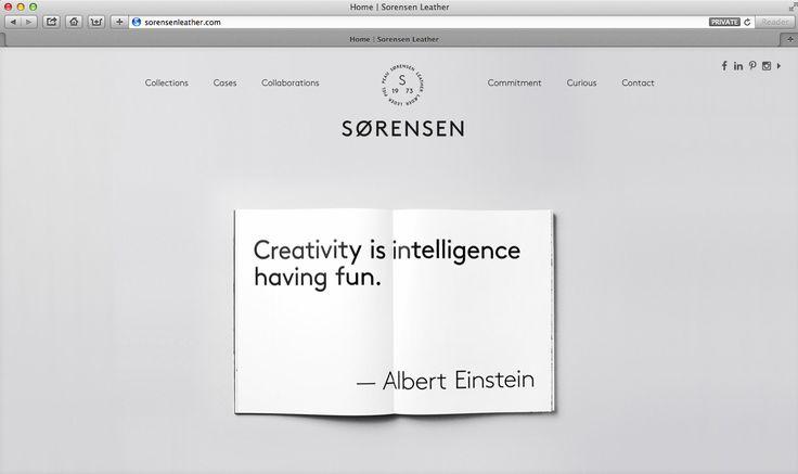Wise words from Albert himself.