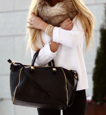 Faux fur infinity scarf - The one i like is at Target made from Mossimo for $16.99 and I like the cream colored one.  Very cute!
