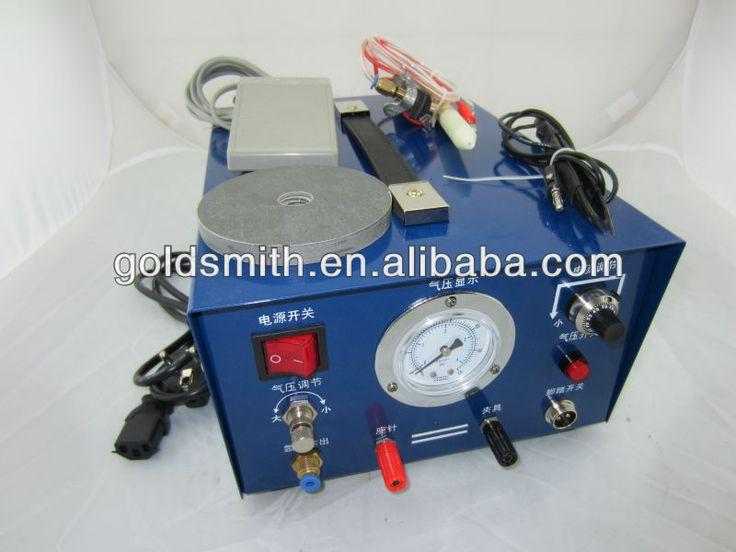 blue argon jewelry spot welder, jewelry welding machine,argon welding machine 110V with extra 2 electrode and 1 clamp