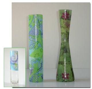 Decopatch-vase