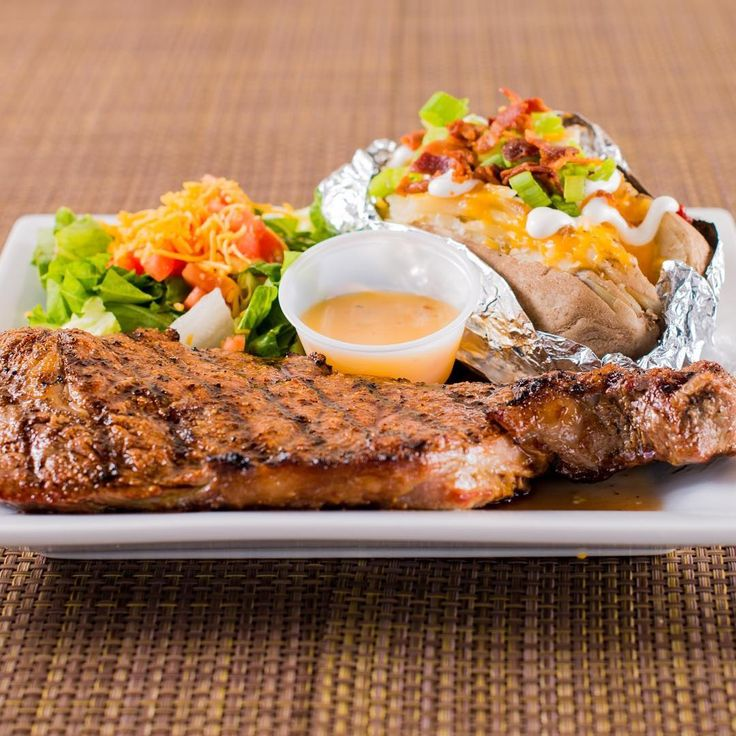 Prospect Park is Here To Cure Your Monday Blues With Our Unbeatable $13 Steak Night Special Complete With Side Salad and Baked Potato    #houstonfoodie #houstonsportsbar #houstonhappyhour #sportsbar #waitress #restaurant #cocktails #bartender #prospectparkwillowbrook #steaknight #steak #bakedpotato #mondayblues