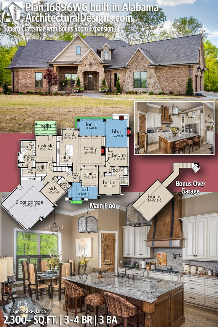 Architectural Designs House Plan 16896WG client built in