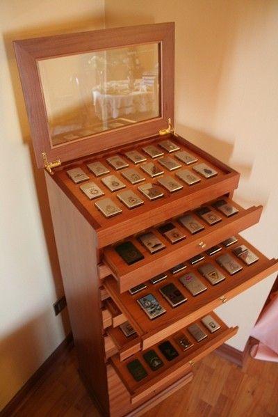 My Zippo cases