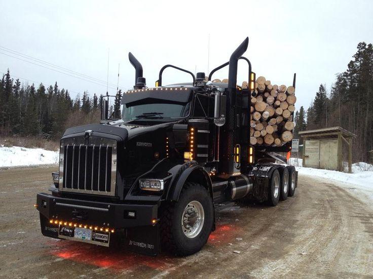Kenworth T800 Log Truck American Trucks Pinterest Logs And Trucks