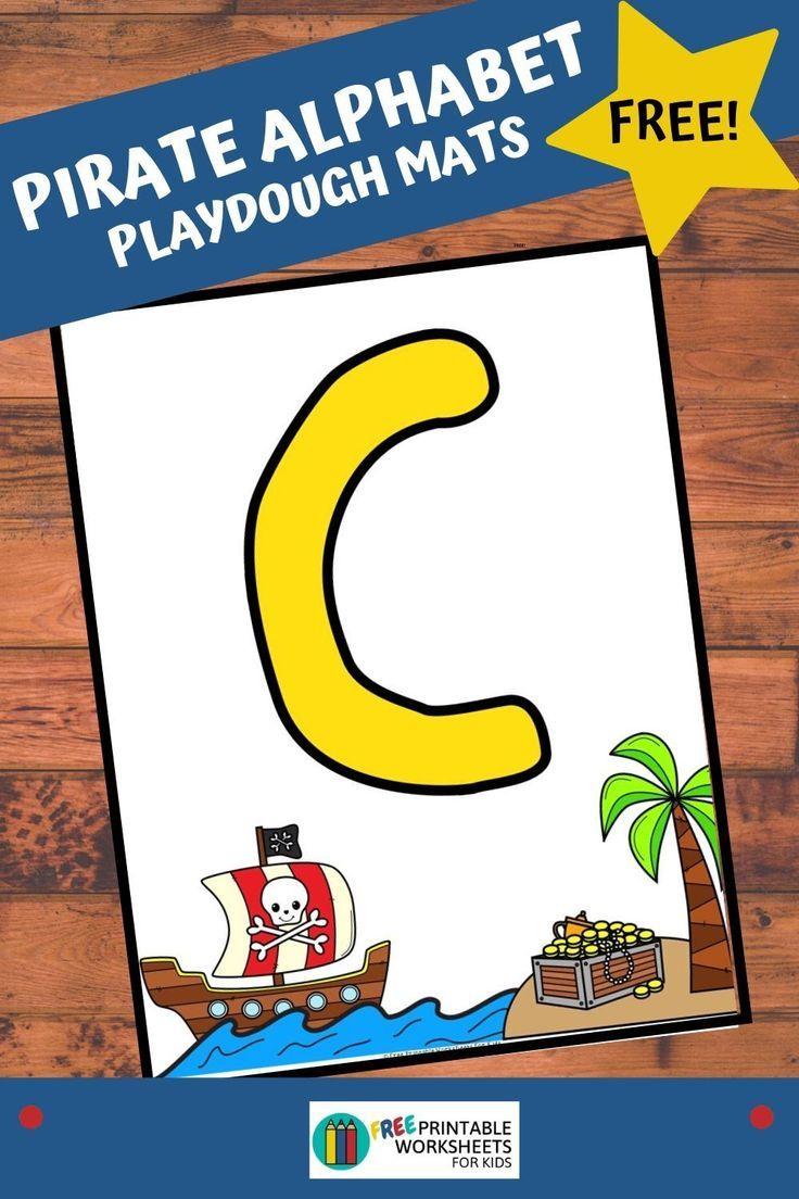 Pirate Alphabet Playdough Mats Free Pirate Activities Preschool Business For Kids Kids Worksheets Printables [ 1104 x 736 Pixel ]