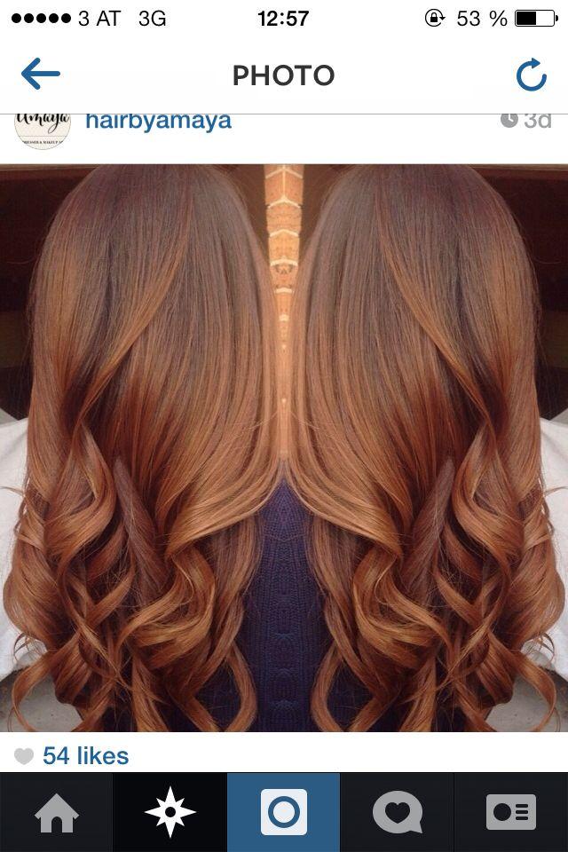 Guy Tang hair, copper brown. LOVE!!! 9.65 8.77