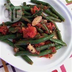 Contorno di fagiolini e mandorle @ allrecipes.it