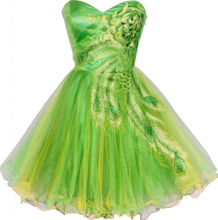 Short Green Dresses For Teenagers