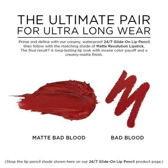 Matte Revolution in color Matte Bad Blood