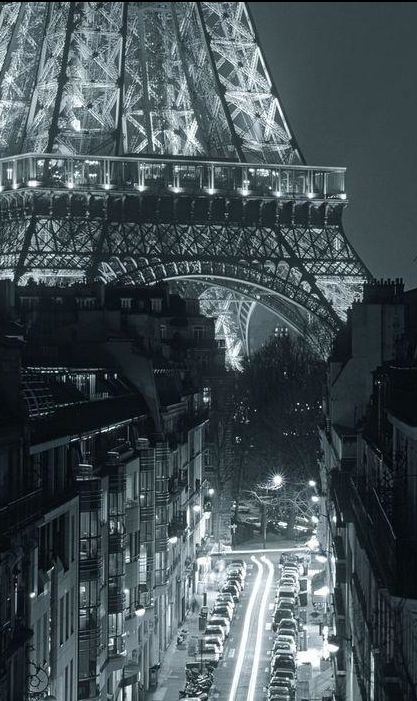 Eiffel Tower at night.                                                                                                                                                                                 Plus