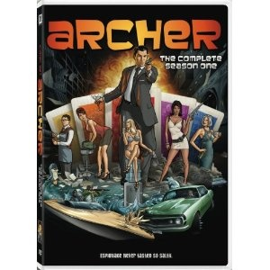 Archer-My favorite animated series ever!!!  This show is why I can't have nice things.  I love it so much.  I have no words.