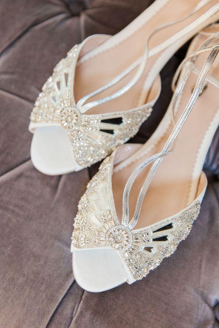 Art Deco Wedding Shoes Styled Wedding Shooting Sarah Shuttle Creative Emmy London Wedding Shoes Wed Art Deco Wedding Shoes Art Deco Wedding Art Deco Bride