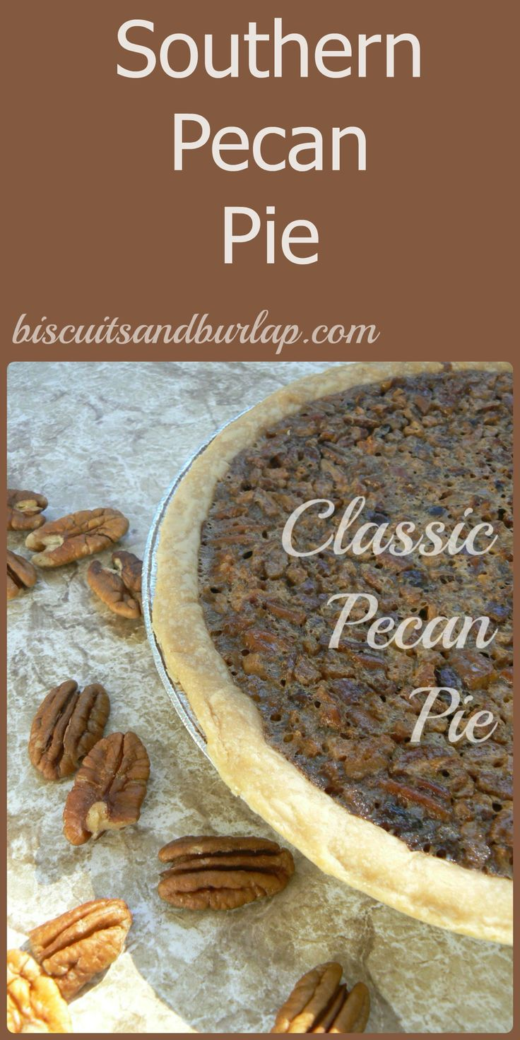 Simple, pure ingredients in this Pecan Pie. Stirs up in 10 minutes, then bake & enjoy that sweet, southern goodness.