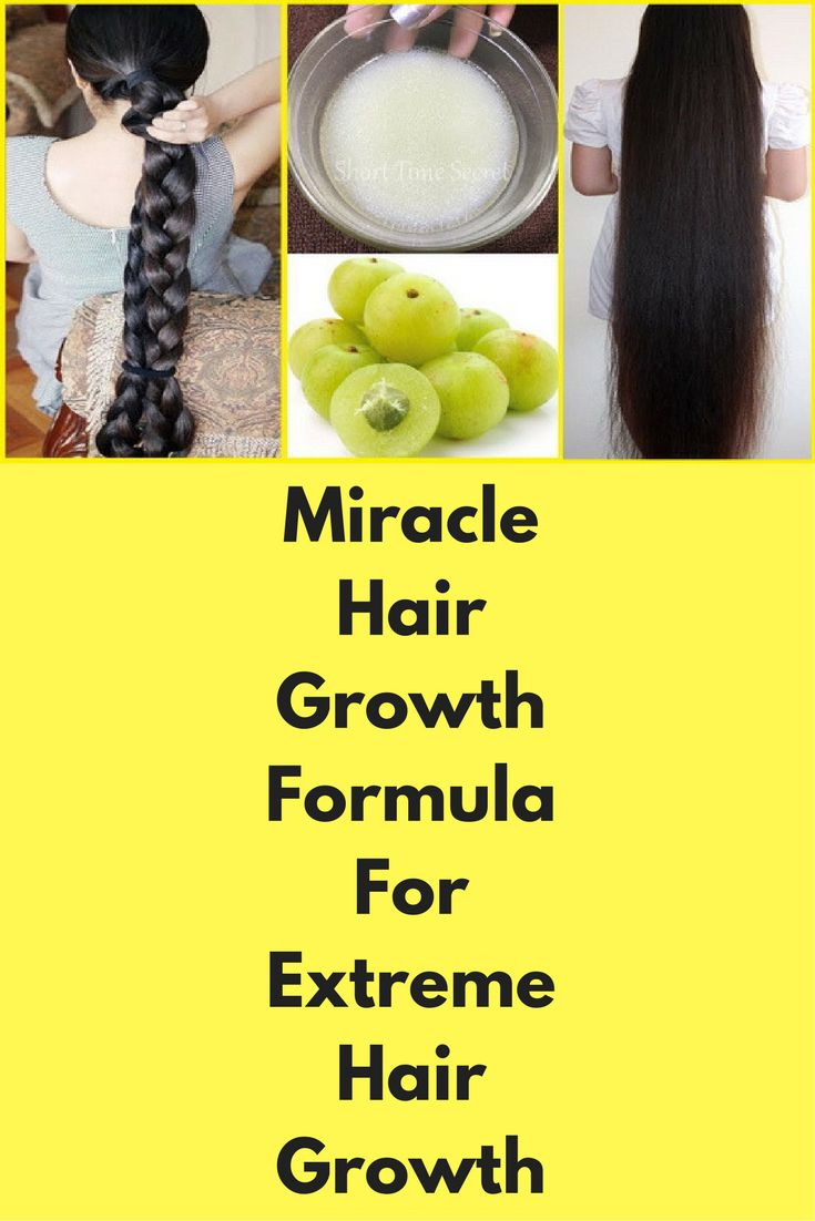 how to get long hair fast naturally at home