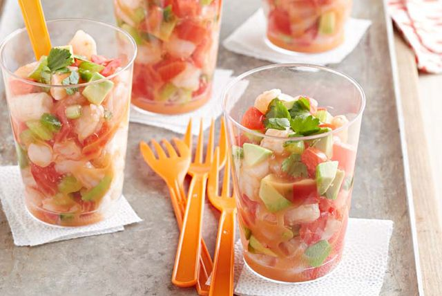 Mexican-Style Shrimp Cocktail