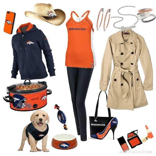 Denver Broncos  | Women's Outfit | ASOS Fashion Finder