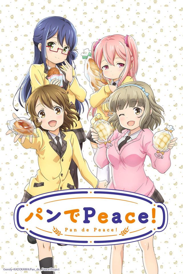 Pan de Peace! on Crunchyroll! Anime, Watch free anime