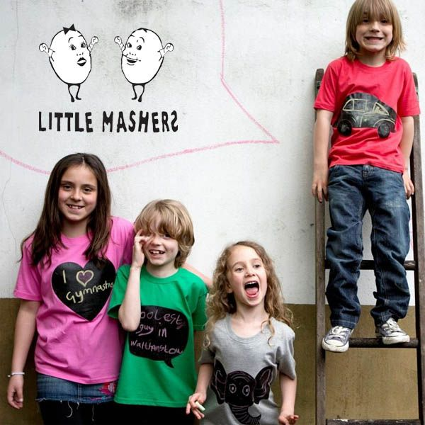 Little Mashers Chalk and Tees - Draw it Yourself