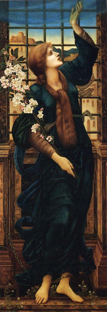 Edward Burne-Jones (Edward Burne Jones): Hope