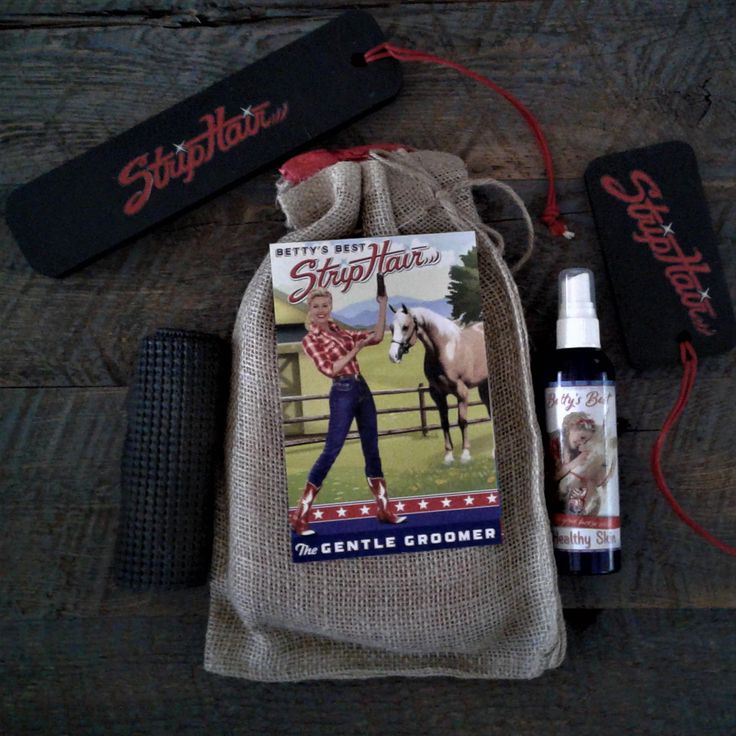 Betty's Best StripHair Gentle Grooming products are the hottest new grooming tools that are revolutionizing the way horses are groomed! Get yours today at Natural Equine Connection