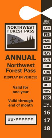 US Forest Service - Annual Pacific Northwest Region Forest Pass | USGS Store