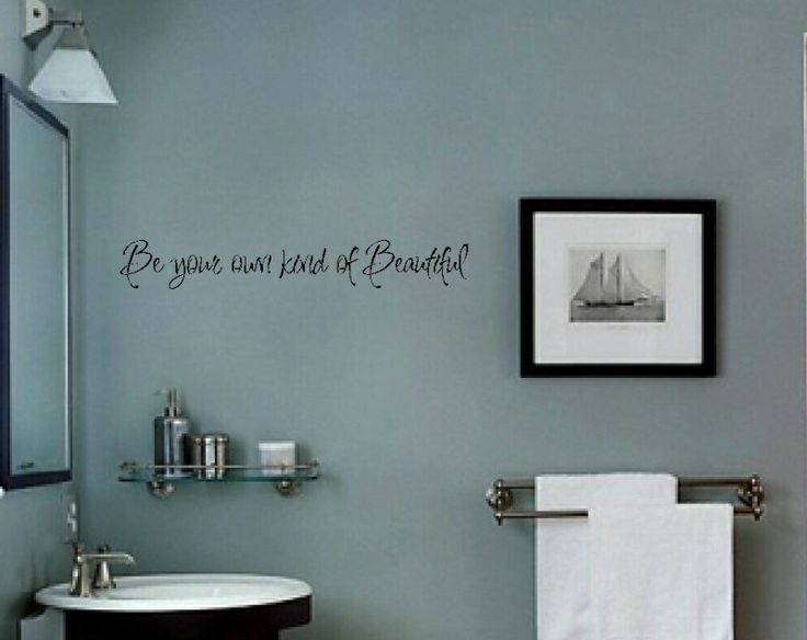 Beautiful Bathroom Quotes 13 best wall vinyl for the bathroom images on pinterest | wall