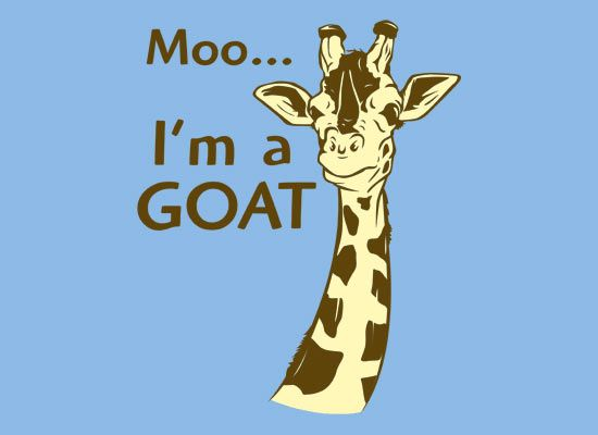 I'm a goatGoats, Laugh, Funny Pictures, Moo, Kids, So Funny, T Shirts, Giraffes, Closets Spaces
