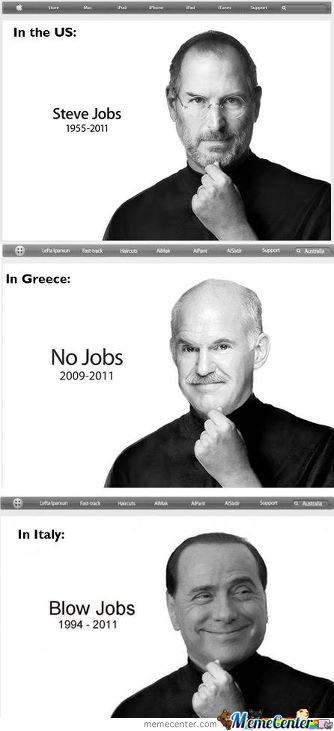 US Vs Greece Vs Italy