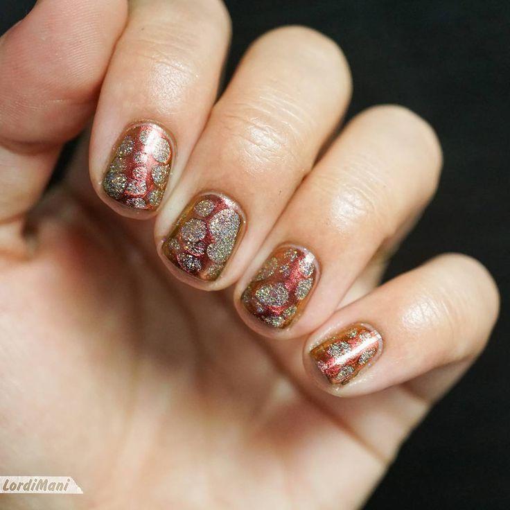"""Nail Art Challenge Décembre : """"Blobbicure de Noël"""""""