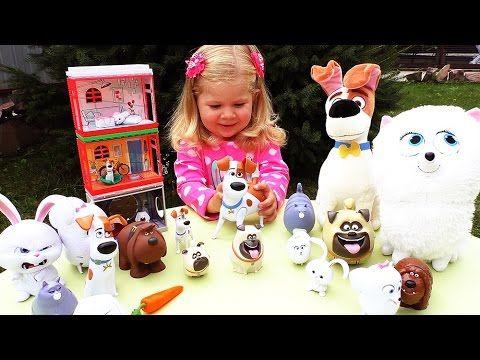 ✿ Тайная Жизнь Домашних Животных ДОМИКИ The Secret Life of Pets Toy House Игровой Домик    {{AutoHashTags}}