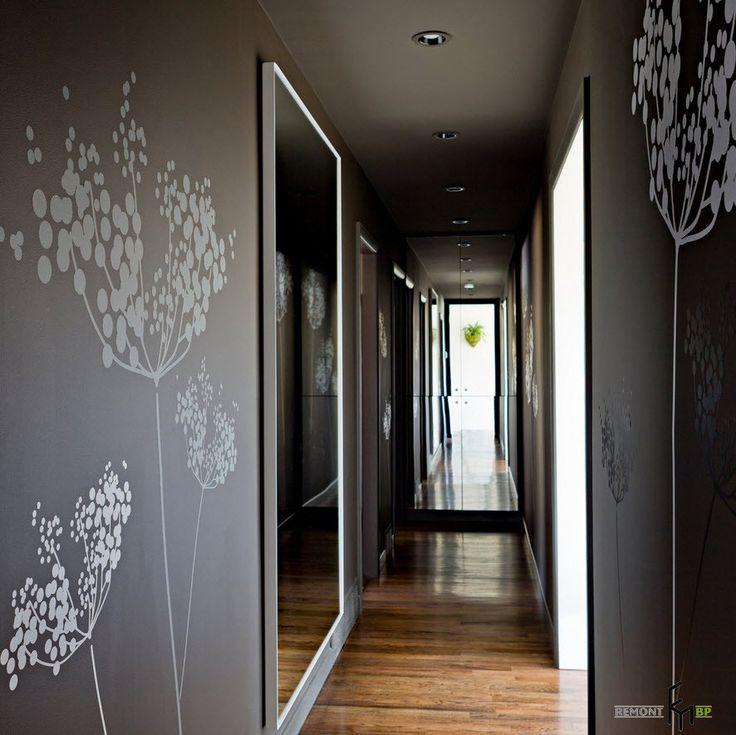 Обои в прихожей и коридоре: лучшие идеи для дизайна с фото