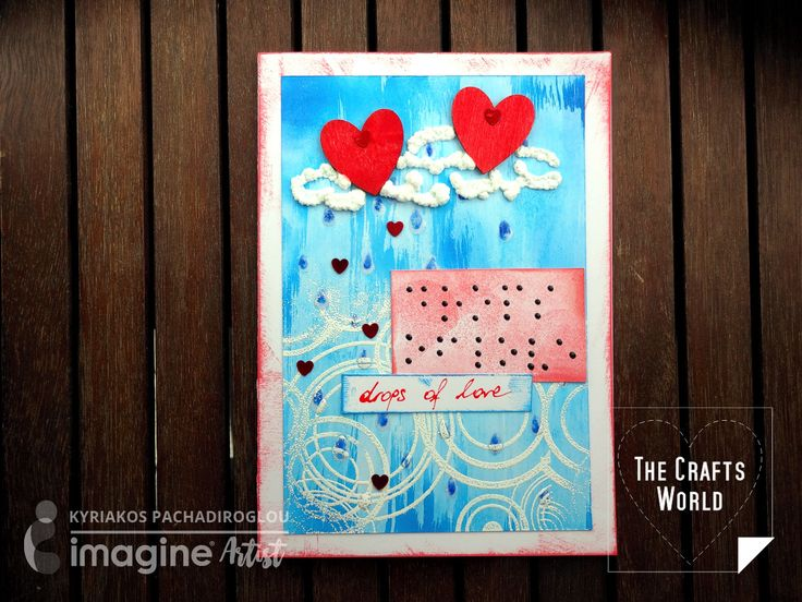 Feeling sometimes in one of the senses that allows people to get the only image of things. A card sharing the love through feeling with raised from paper decorations created with GooseBumps and Amplify! mediums and a Braille card sharing the message. Imagine supplies Memento – Lady bug, Bahama Blue GooseBumps VersaMark Embossing Powder – …