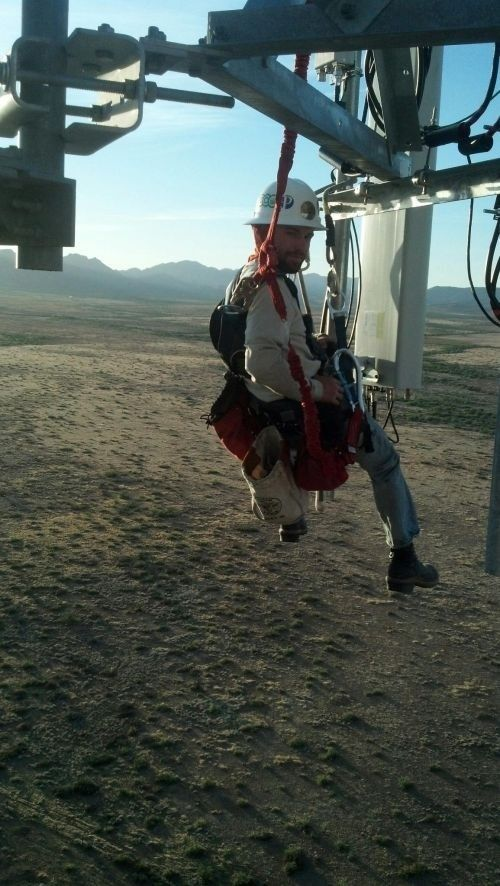 cell tower climbers towers pinterest tower climber