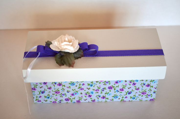 Floral Favor Box for any occasion.