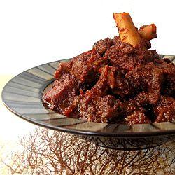 Kosha Mangsho/  Dry Fried Mutton