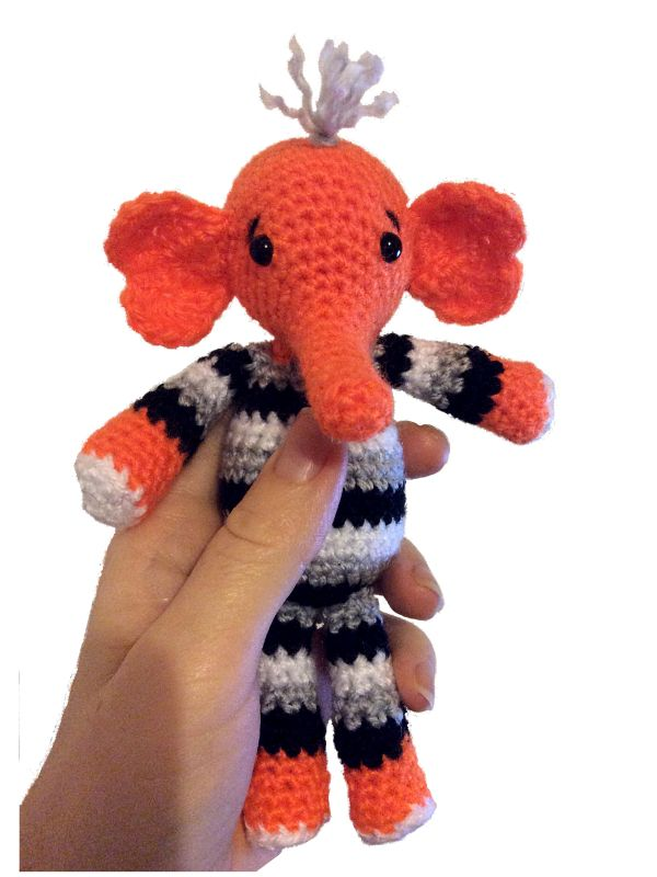 Red Heart Free Crochet Patterns Animals : 23 best images about Free Elephant Crochet Patterns on ...