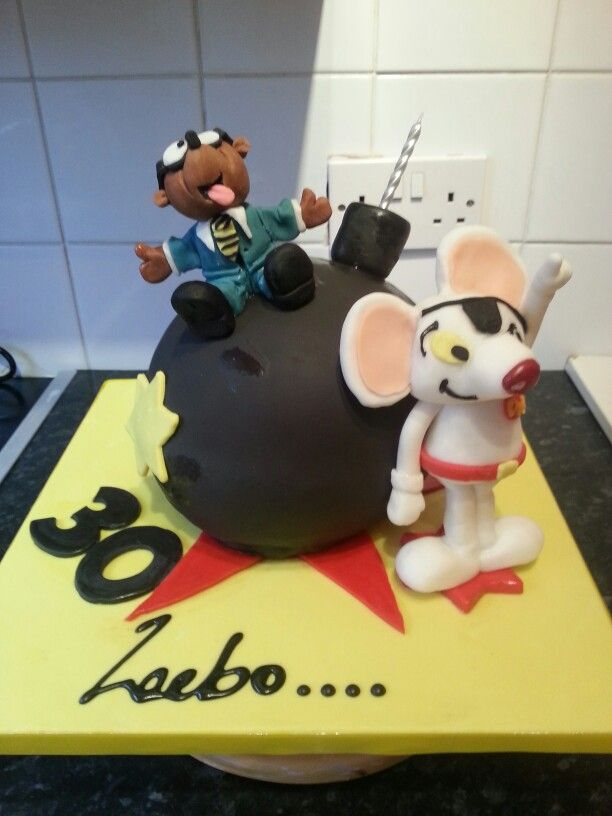 Danger mouse and penfold ...cake My latest cake