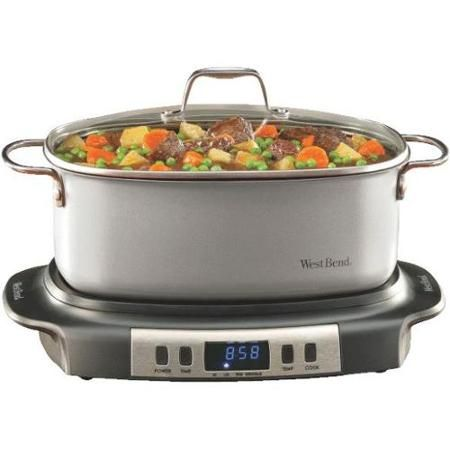 West Bend Versatility Slow Cooker-6QT VERSATILITY COOKER