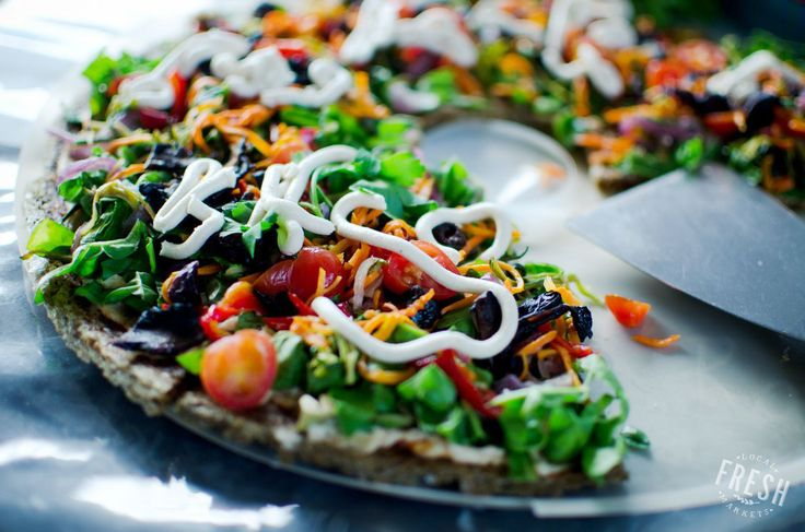 Great-looking pizza by Spades & Spoons Deli