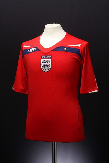 England Football Shirt (Away, 2008-2010)