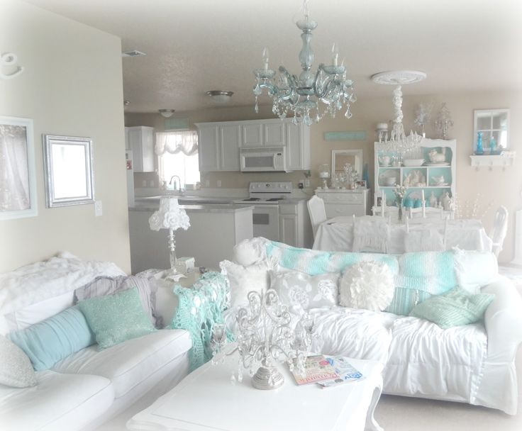 Shabby Chic Living Room...