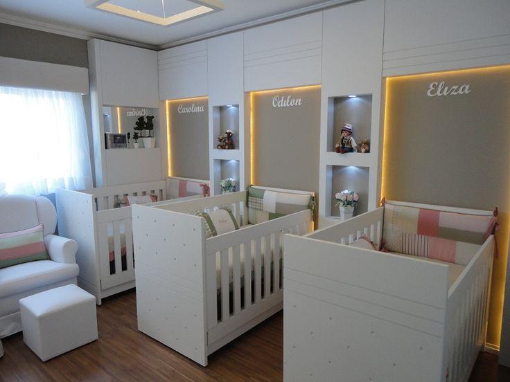 die 25+ besten drillinge schlafzimmer ideen auf pinterest, Schlafzimmer