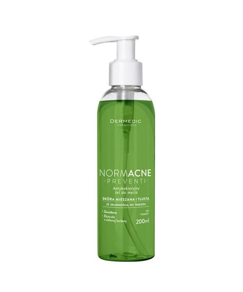 Dermedic este un gel antibacterial pentru tenul gras, cu acnee si puncte negre. Este recomandat pentru curatarea impuritatilor si demachiere: http://www.beautygarage.ro/gel-curatare-ten-gras-acnee-dermedic