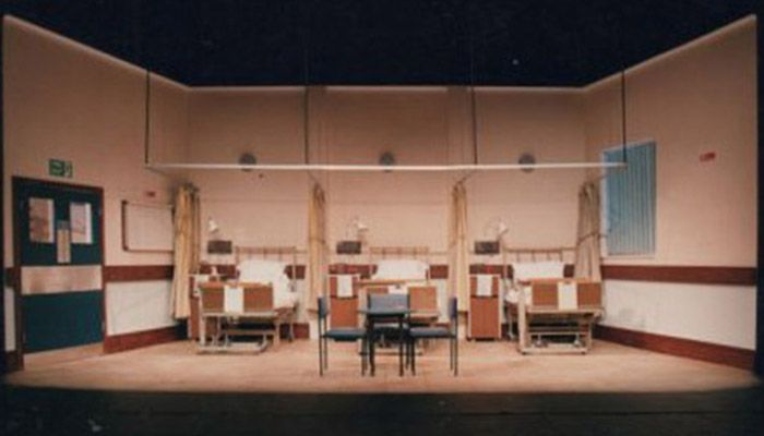 It Can Damage Your Health. Scenic design by Kerry Bradley.