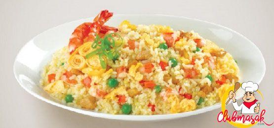 Resep Hidangan Nasi Goreng Hongkong, Masakan Sehat Untuk Diet,  Club Masak