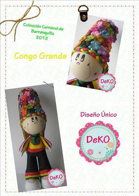 DeKO Arte Pop! : Carnaval de Barranquilla !