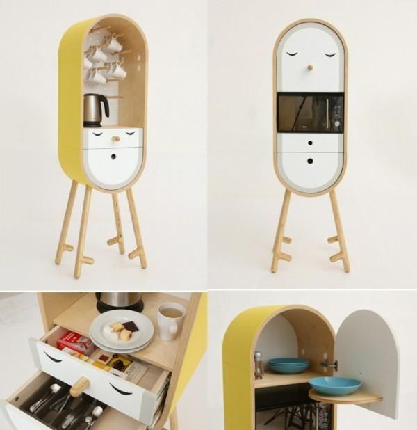 Die Mini Küche LO LO wird in verschiedenen, bunten Farben angeboten