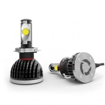 Lifetime LED Lights 70 Watt High/Low Beam LED Headlight Bulbs for Jeep Wrangler JK 2007-2014