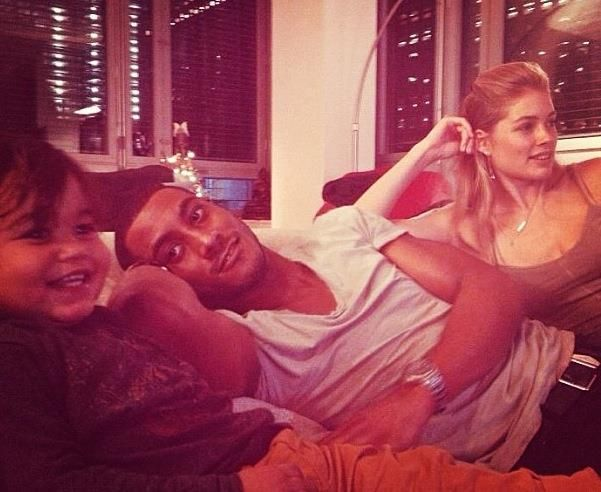 Doutzen and her amazing family