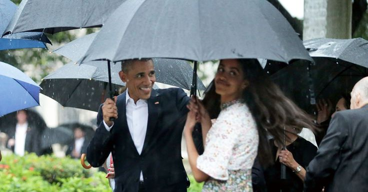 Malia Obama Had to Translate Spanish For Her Dad in Cuba